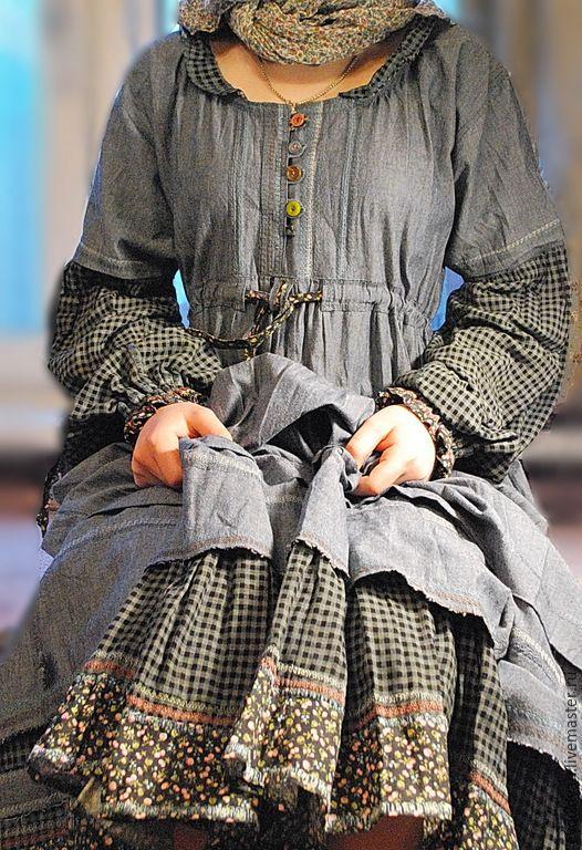 32334c66c63f Купить или заказать ОДЕЖДА ДЛЯ СВОБОДНЫХ НАТУР в интернет-магазине на  Ярмарке Мастеров. Роскошный костюм из натуральных тканей,напоминающий  народный костюм ...