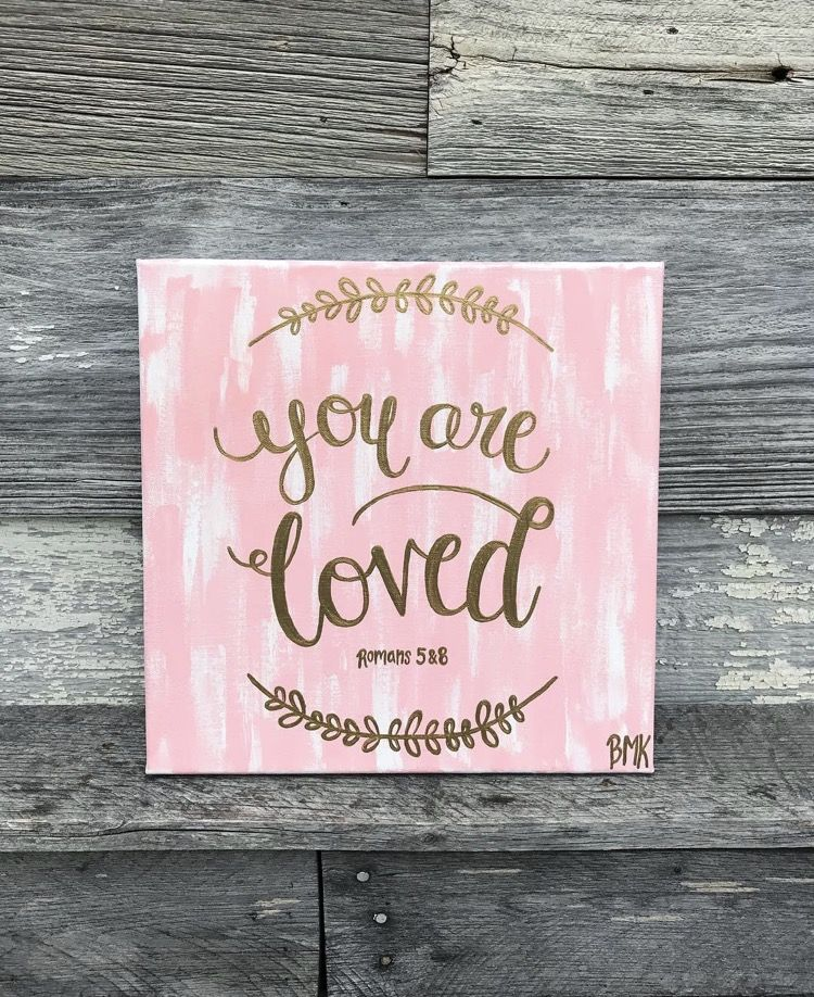 You are loved Romans 5 u0026