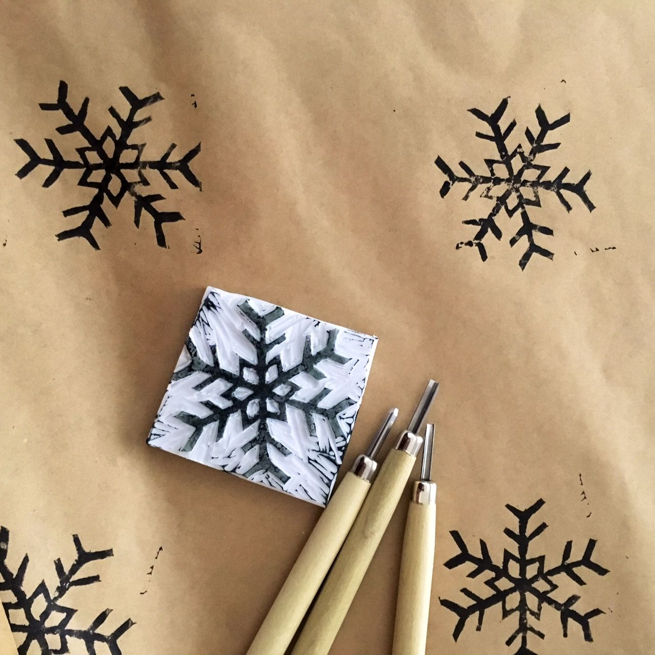 Join our 2016 Christmas Crafty Party where you will learn how to carve stamps and make your own wrapping paper. Fun, easy and environmentally friendly!