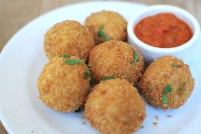 Crispy Arancini Stuffed with Mozzarella | Tasty Kitchen: A Happy Recipe Community!