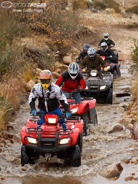 Trail Riding With Friends Is A Great Way To Enjoy The Outdoors Atv Riding 4 Wheelers Atv