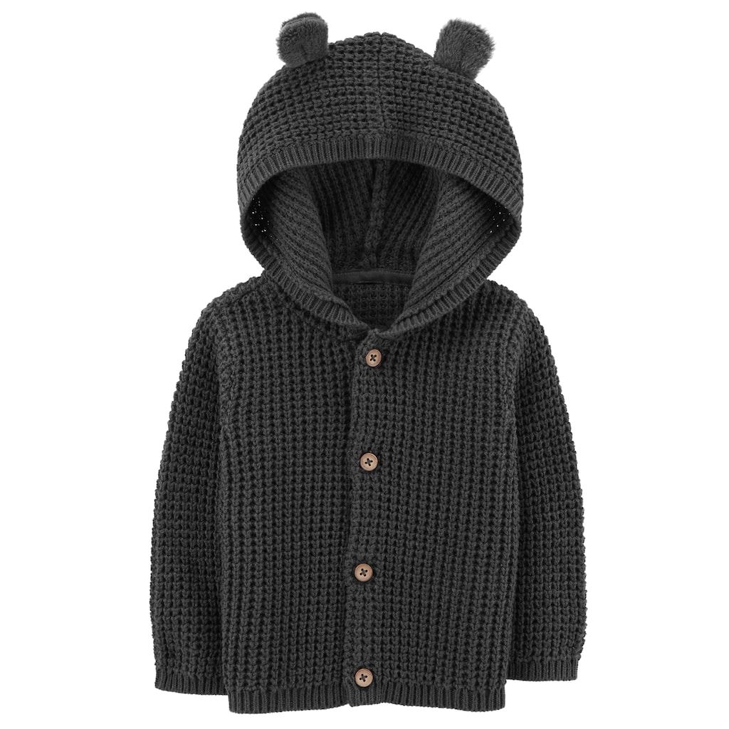 a9d5b7d00 Carter s Baby Boy Hooded Textured Cardigan in 2018