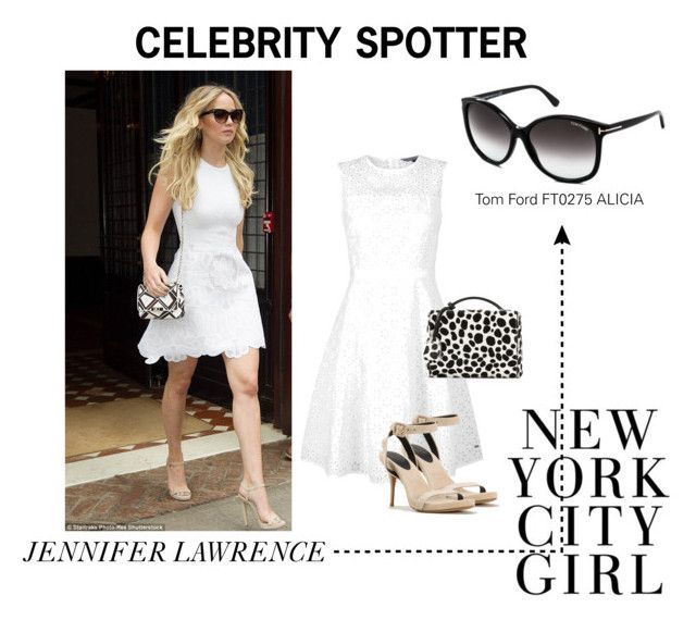 Jennifer Lawrence in New York by smartbuyglasses on Polyvore featuring Tommy Hilfiger, Mark Cross and Tom Ford