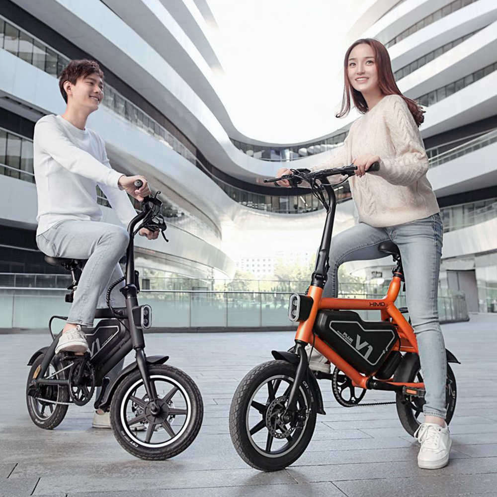 Xiaomi Himo V1 Plus Portable Folding Electric Moped Bicycle 250w
