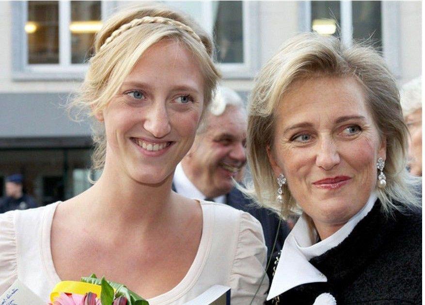 Prinzessin Astrid Von Belgien Postkarte Belgien Prinzessin Belgisches Konigshaus