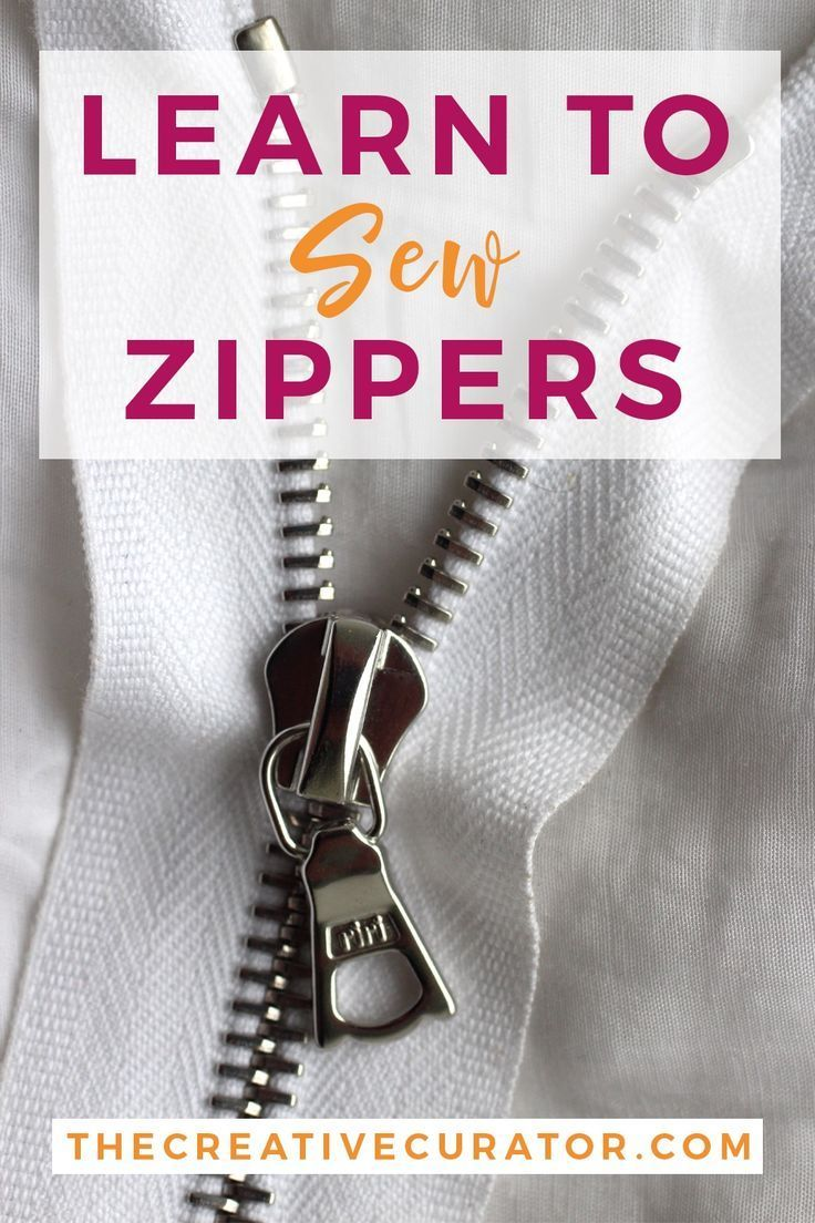 Sewing Zippers Guide