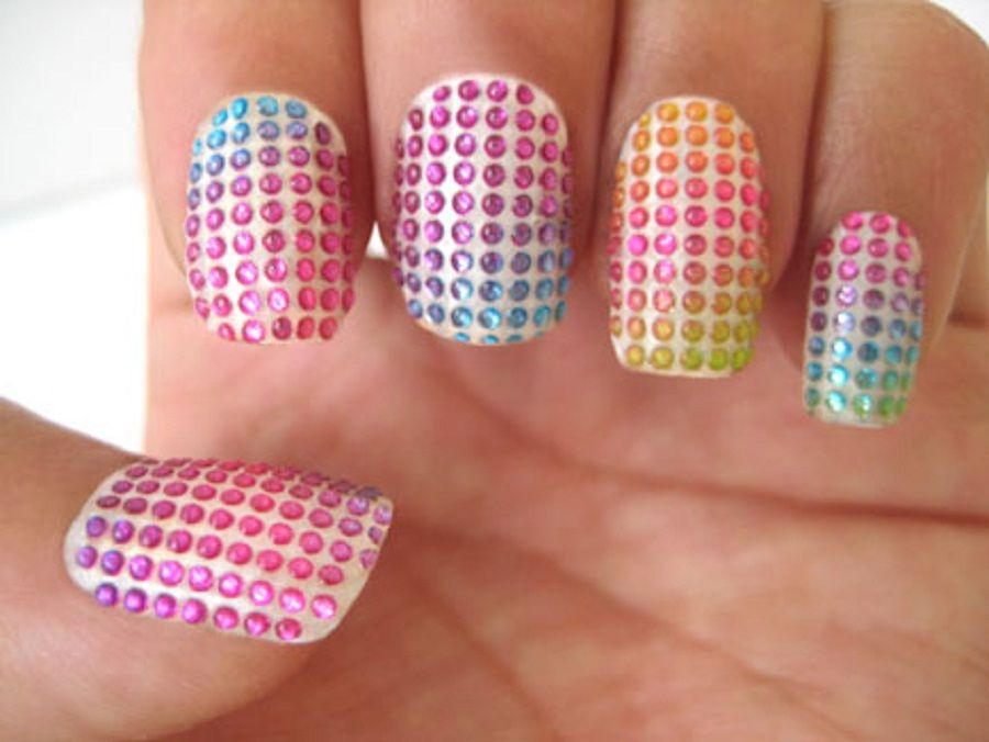 Previously Cool And Easy Nail Designs polish was used to. Social ...