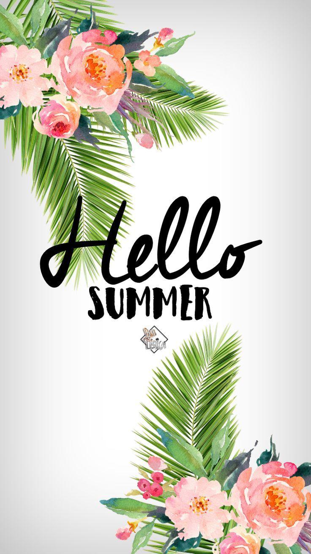 Hello Summer Phone Wallpaper I Lisa Lisica C Leto Fony Privet Leto Letnie Kartinki Sfondi Estivi Bellissimi Sfondi Sfondi Carini