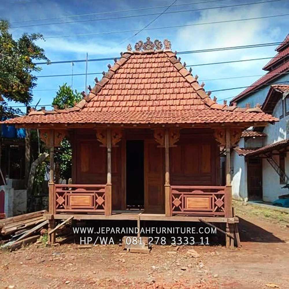 Rumah Joglo Kayu Jati Ukir Jepara Model Limasan Jawa Kayu Jati Rumah Rumah Kayu