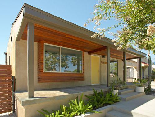 Minimalist Verandah Bungalow Renovation Frontage Structure Design Interesting Exterior Home Renovation Minimalist