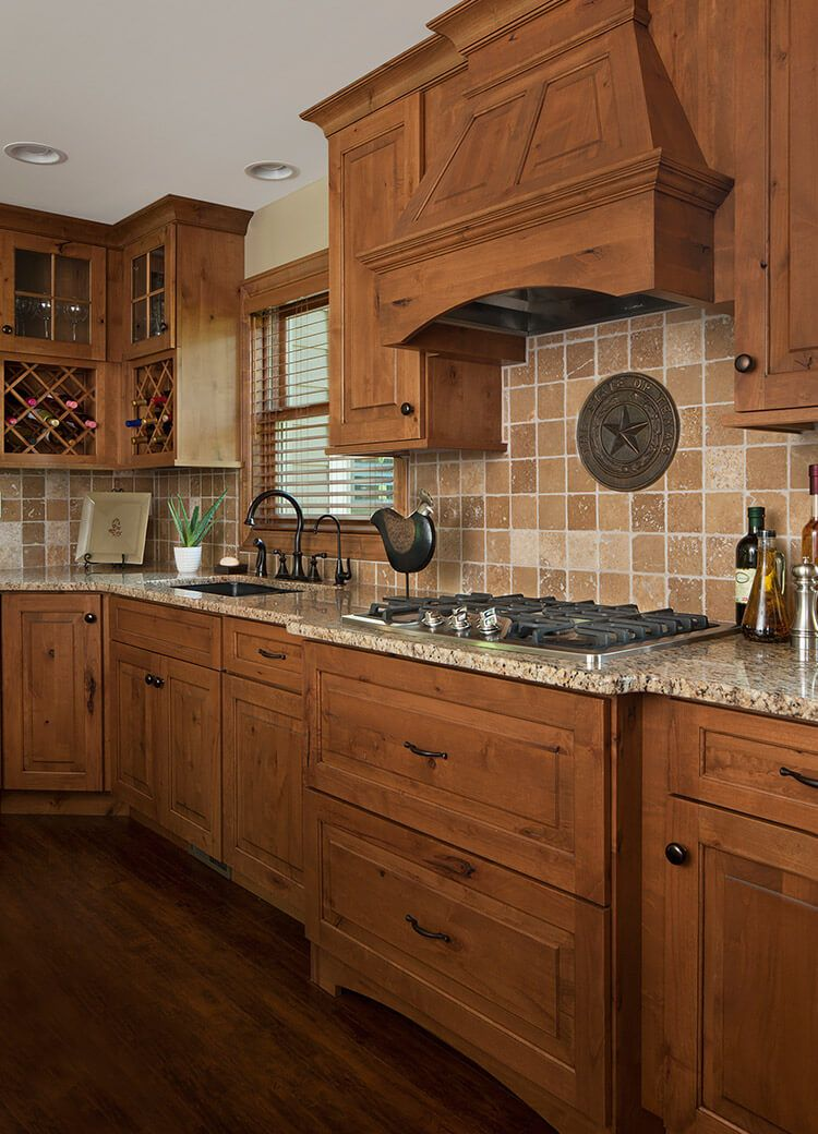 Rustic Kitchen Remodeling Project in Brighton, MI by KSI ...