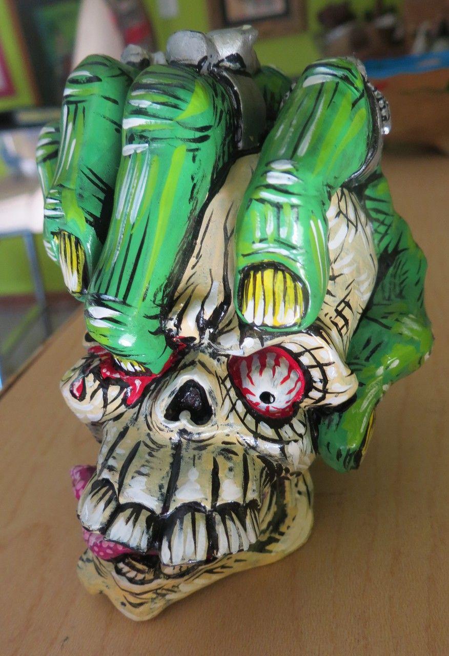 """Crash"" Painted Fist Skull Shift Knob - HouseOspeed - Hot ..."