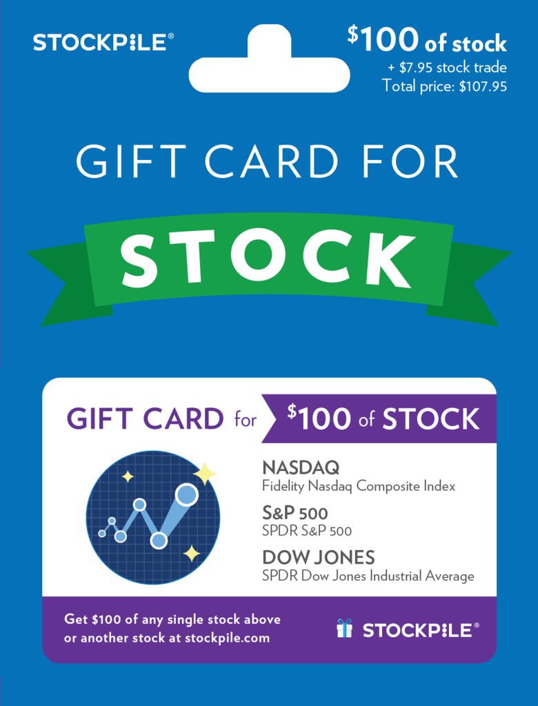 Choose A Favorite Index Etf 100 The 100 Index Stock Gifts