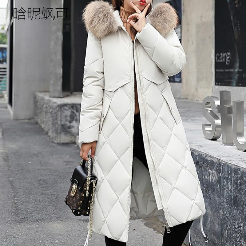 US Women Long Parka Cotton Down Thick Jacket Winter Warm Hooded Coat Outwear New