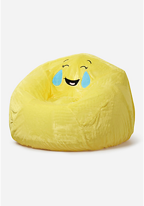 Emoji Inflatable Chair Slip Cover Bean Bag Chair Covers Bean Bag Gaming Chair Girl Bedroom Decor