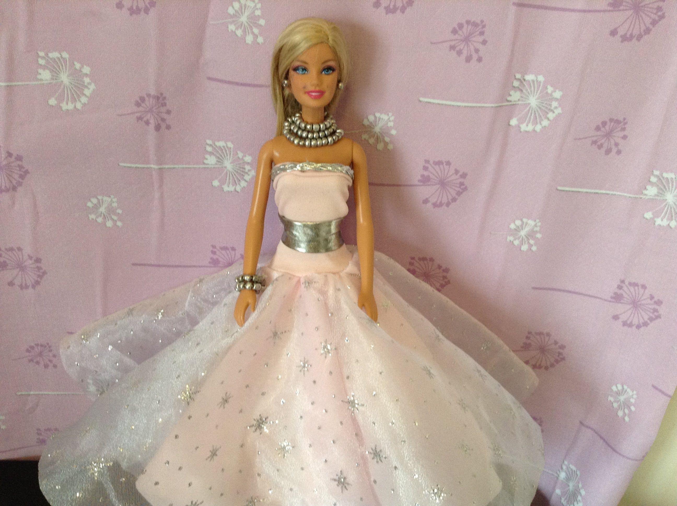 EPISODIO67. COMO HACER VESTIDO DE PRINCESA PARA barbie, monster high ...