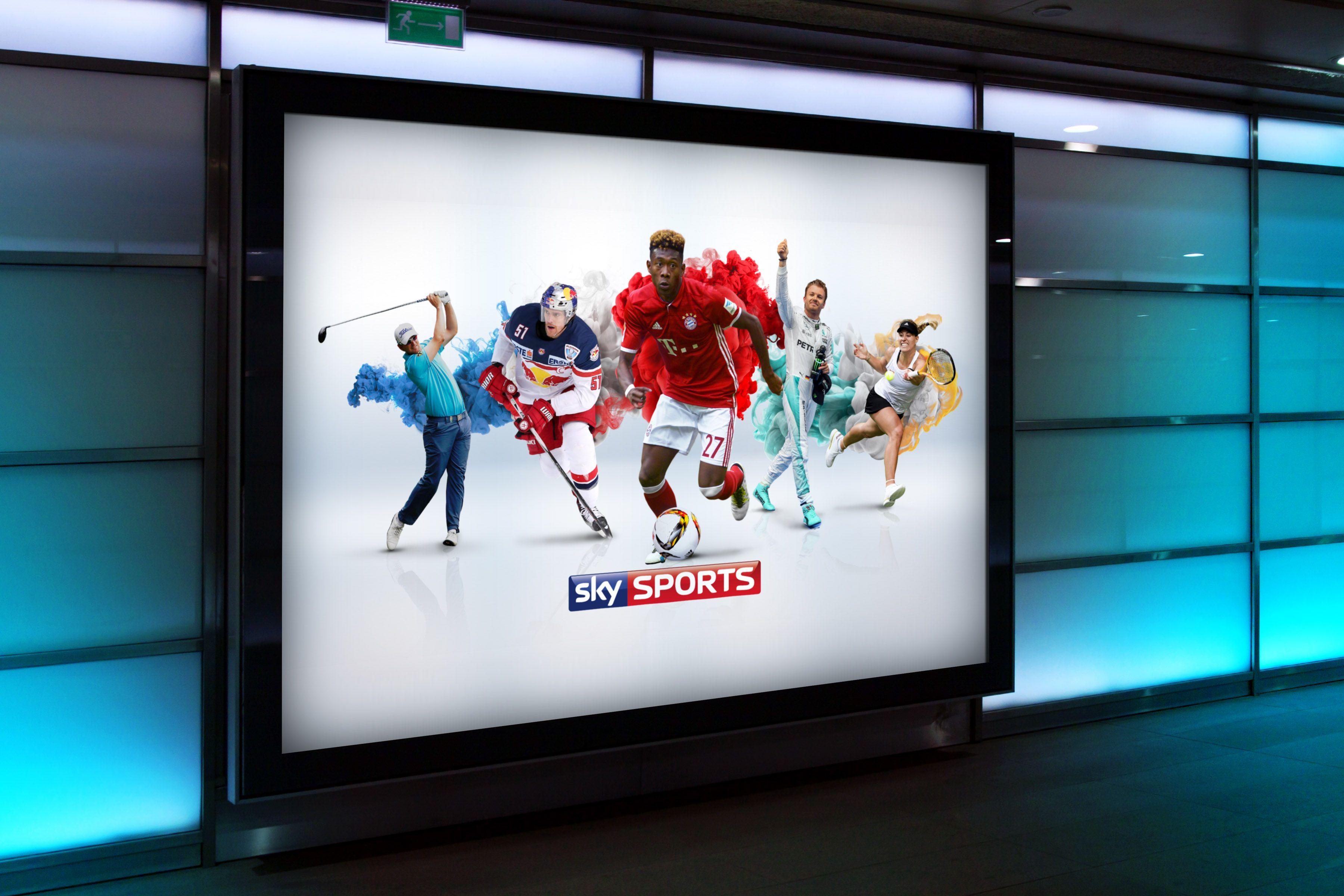 Sky Sports Advertising Billboard