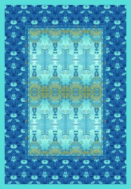 Bassetti Plaid Tagesdecke Wohndecke Taffeta V 3 135x190 Cm Ornamente In Mobel Wohnen Bettwaren Wasche Matratzen Wohn Bassetti Plaid Wohndecke Decke
