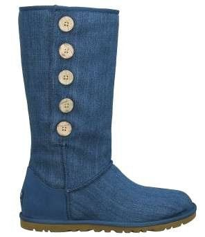 Denim Uggs- currently being sold at TJ MAXX (Sizes 5 and 6)!