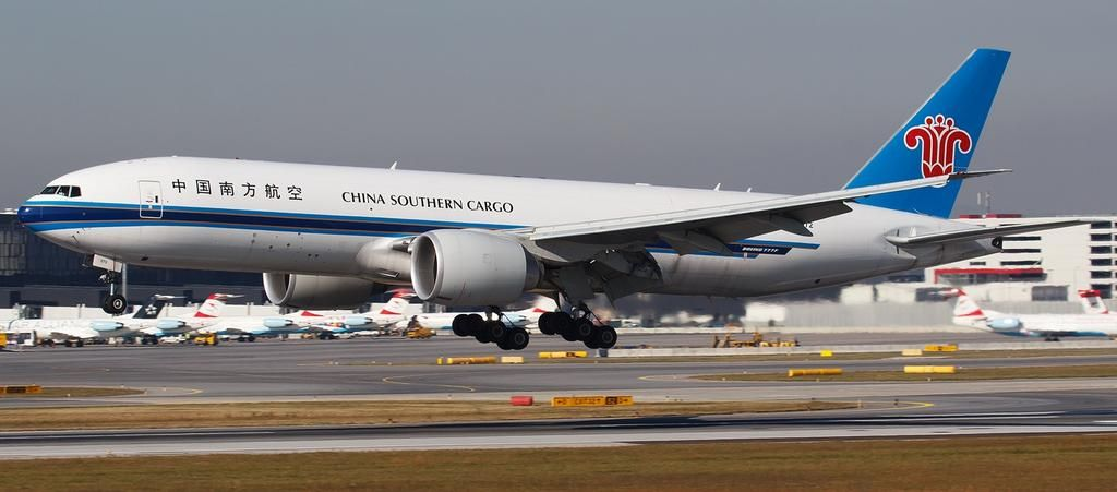 China Southern Cargo B777 freighter pic.twitter.com/8ClbWCRNOr