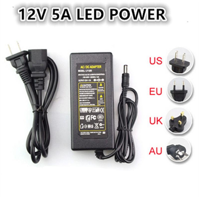 Article 12v 5a Switching Power Supply Led Lamp Power Supply 12v Power Supply Power Adapter Router Free Shipping Dc Connector Power Supply