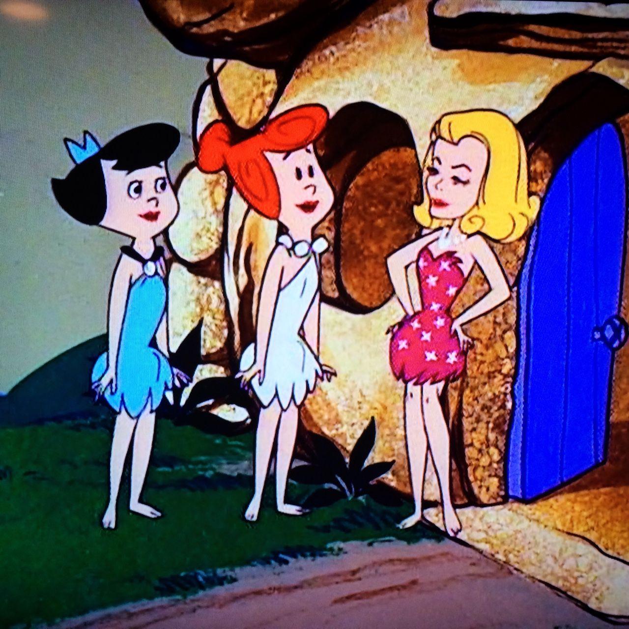 bewitched meets the flintstones bewitched elizabeth