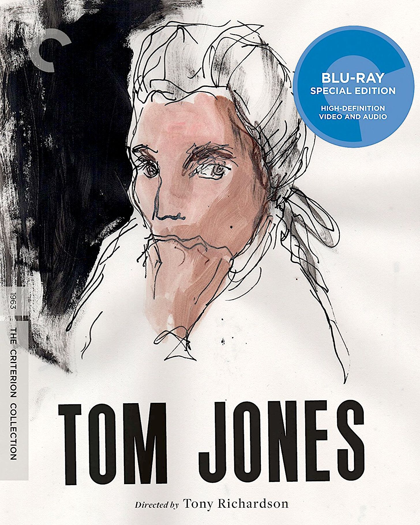 TOM JONES BLURAY SPINE 909 (THE CRITERION COLLECTION