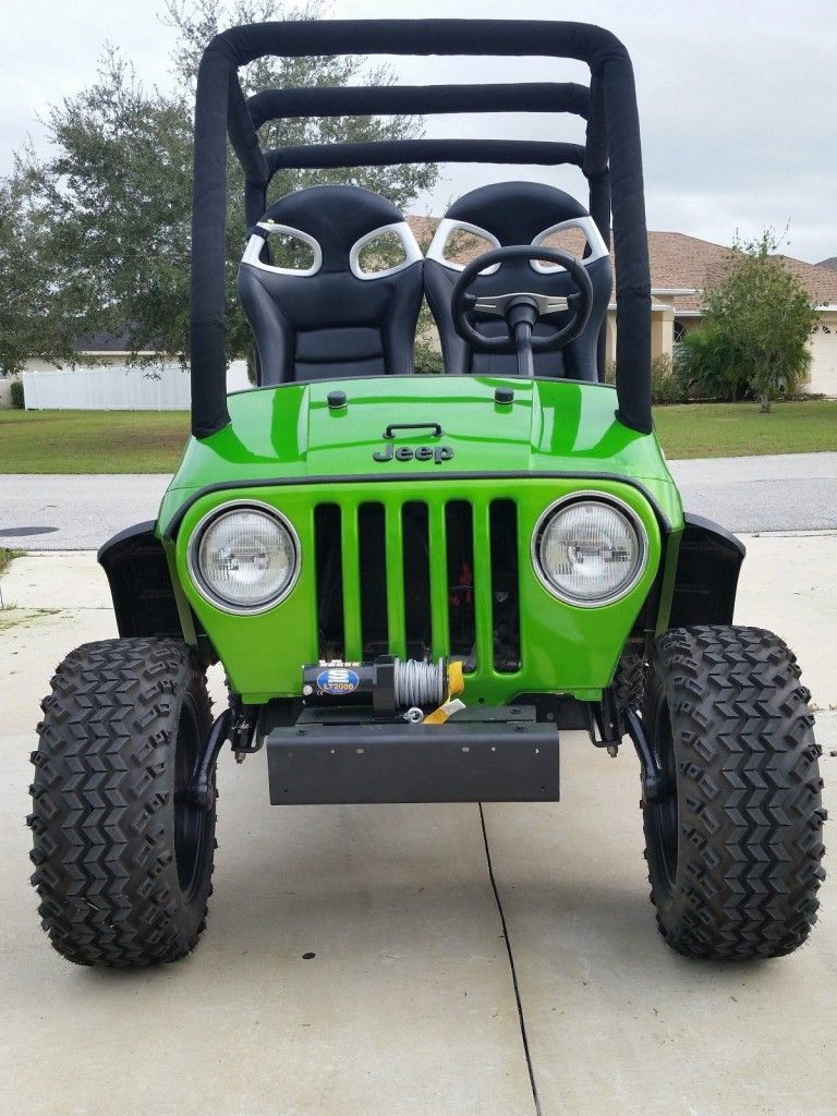 Golf Cart Body Kits Jeep : Carts,, Lifted, Electric