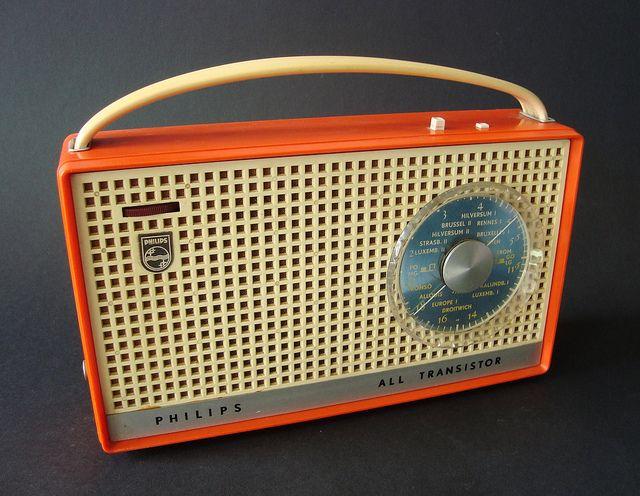 Philips Portable Transistorradio The Netherlands 1962 Transistor Radio Vintage Vintage Radio Retro Radios