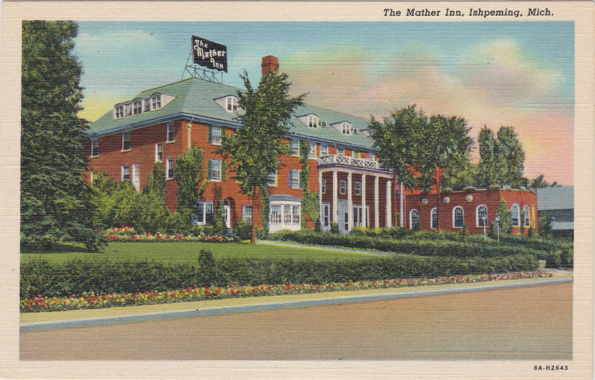 UP Ishpeming MI THE MATHER INN opened 1932 named for William G ...