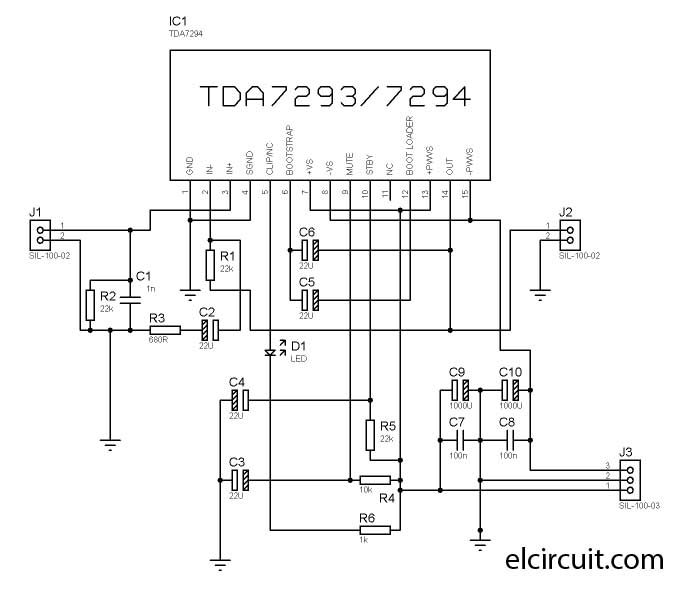 audio tone control layout and circuit diagram by yiroshi using