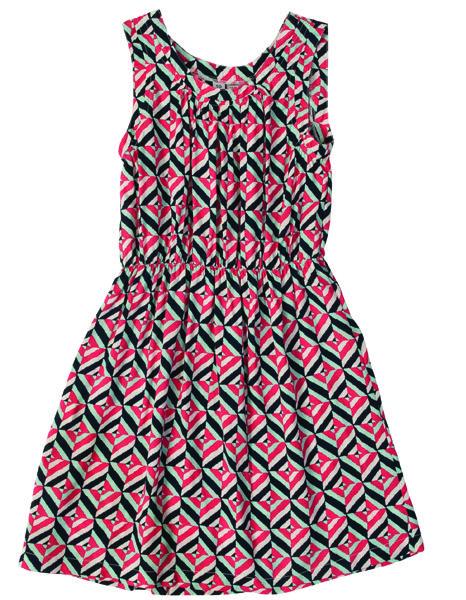 Trudy Tank Dress, coral square.  #missbtween #preppystyle #tweens #girlsdresses