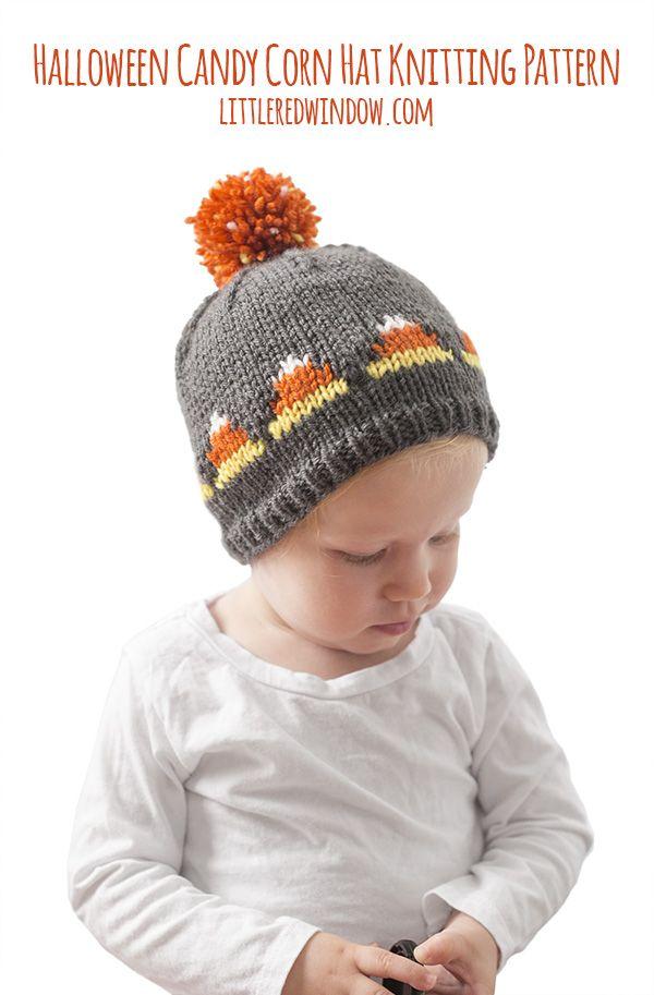 Fair Isle Candy Corn Hat Knitting Pattern | Knitting Knitting ...