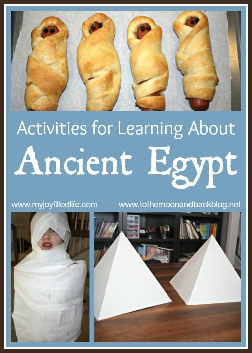 Photo of Activities for Learning About Ancient Egypt