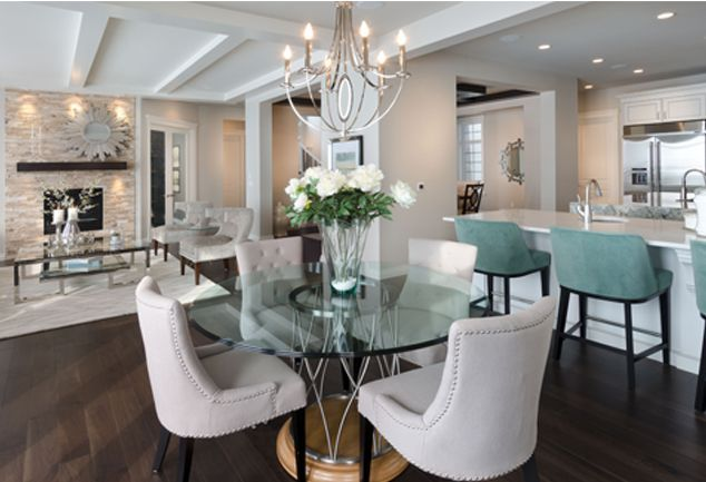 Morrison Homes Savannah Showhome Winner Of A 2017 Samcalgary Award Gl Dinning Table Dining Room