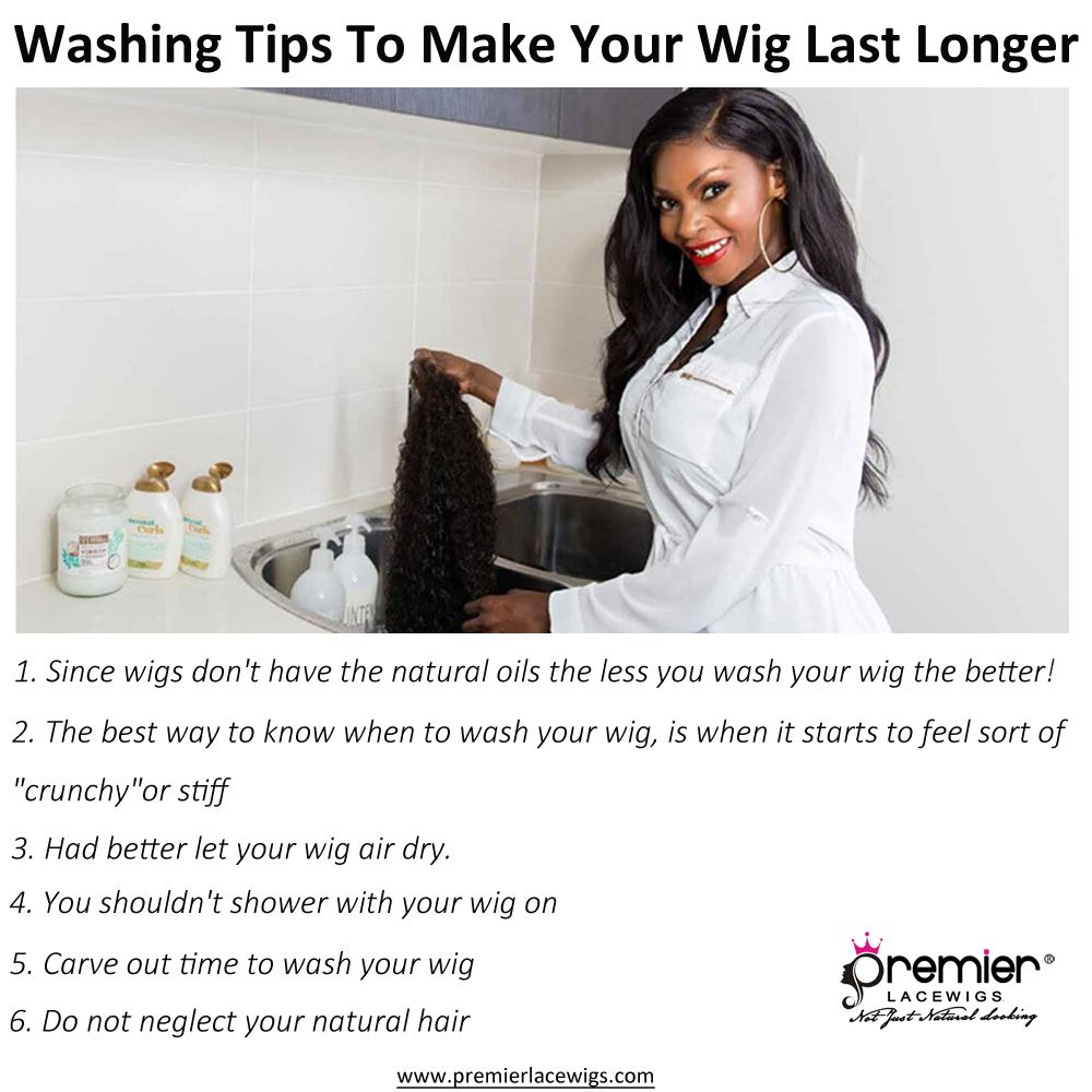 premierlacewigs WigCare These are some washing tips from