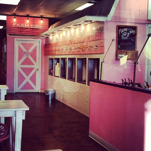 "Farm Girl Frozen Yogurt @Tanell Montgomery's photo: ""New yummy spot #farmgirlfrozenyogurt"""