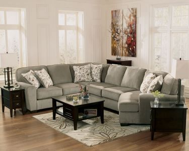 Large Sectional with Cuddler Seat