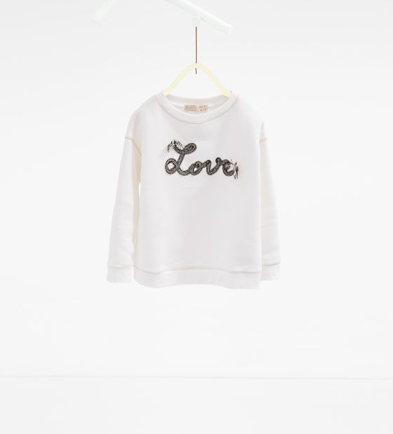 Image 1 de Sweat « Love » de Zara