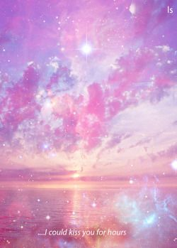 art cute sky lyrics design space galaxy nebula artist pink sea
