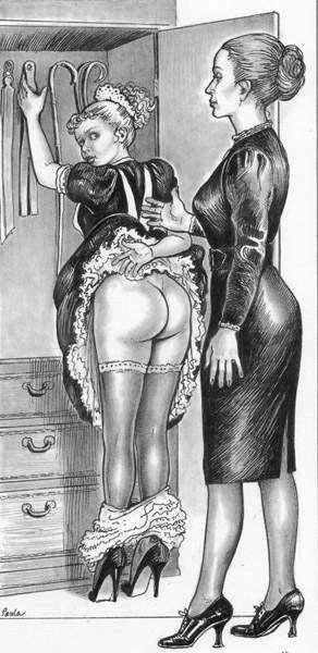 Soubrette et Madame