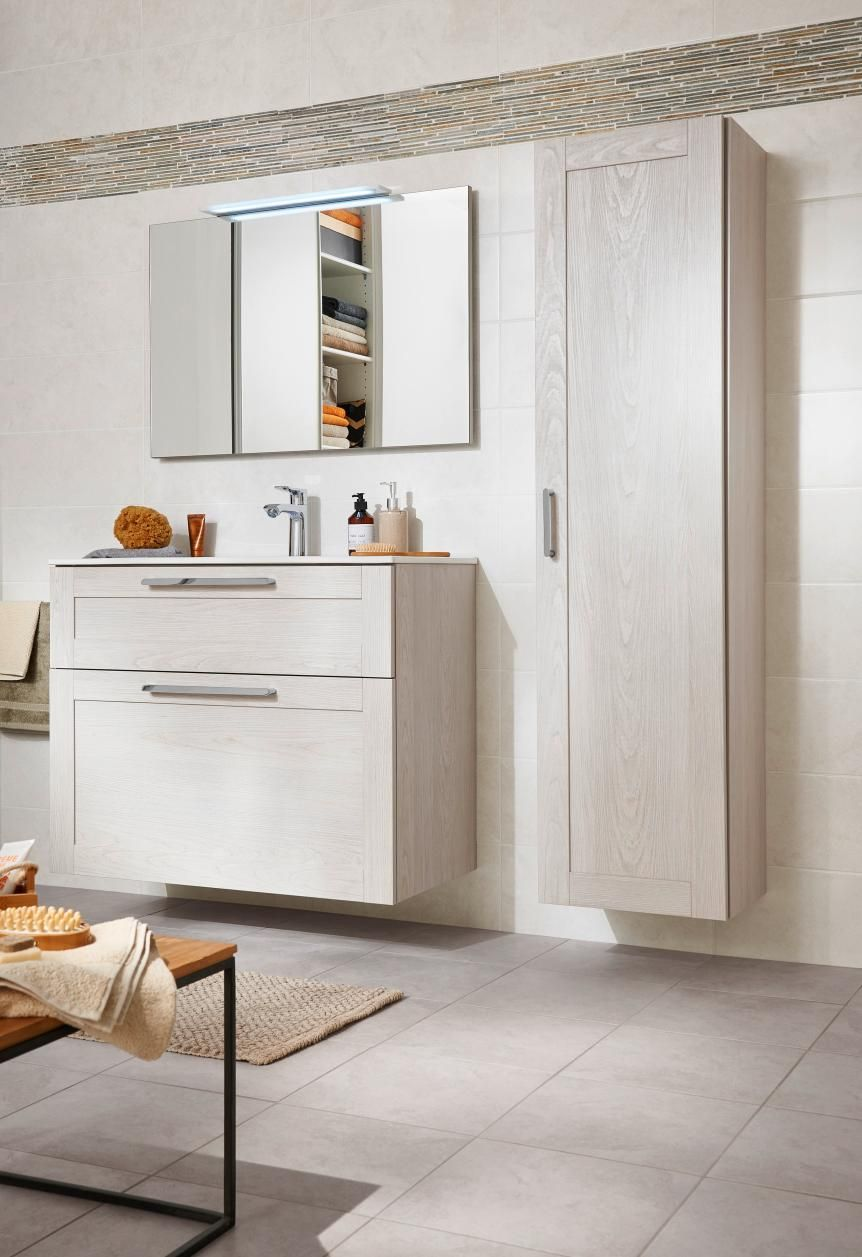 Creamix le meuble qui s 39 adapte toutes les salles de - Meuble sous vasque 75 cm ...