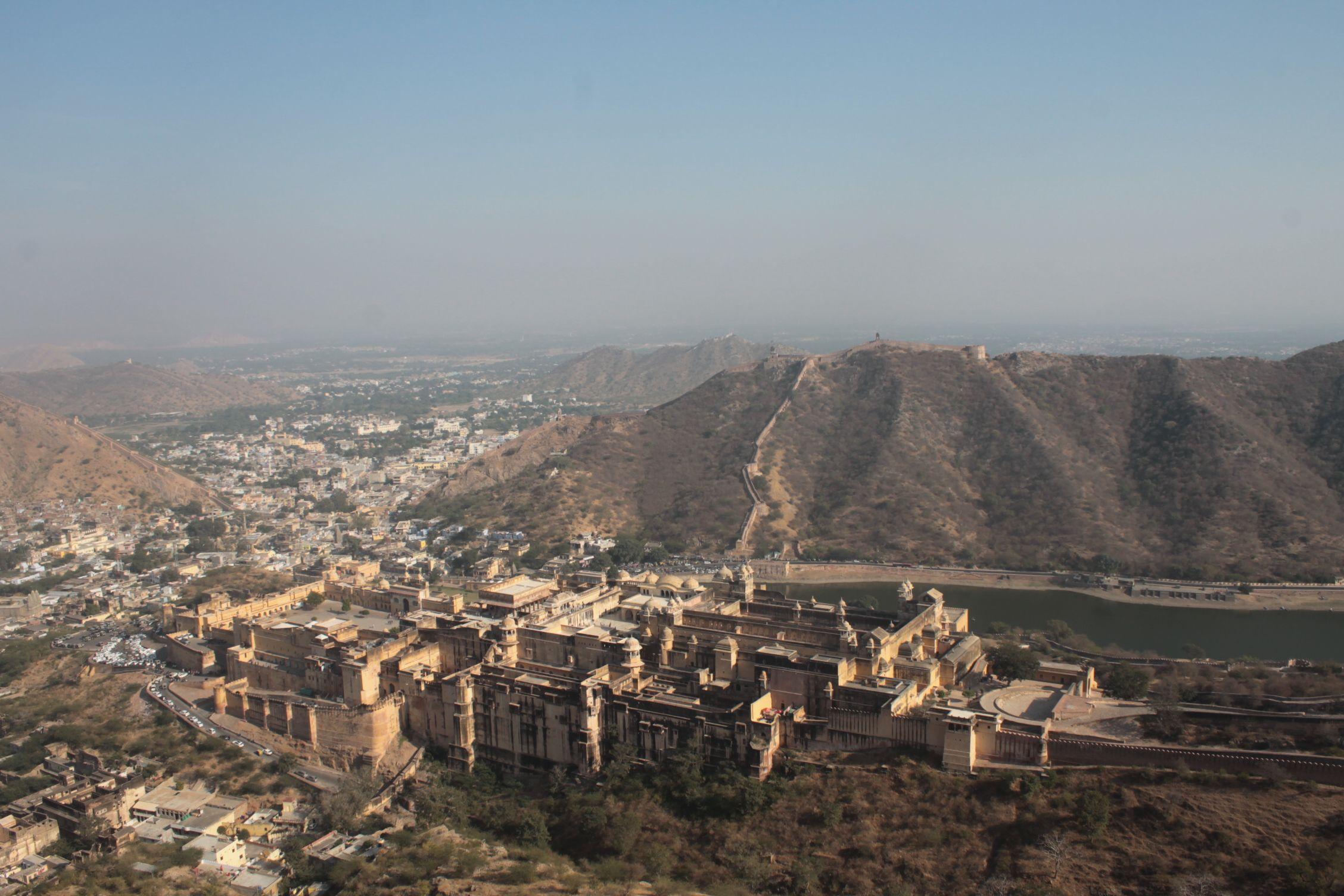 Fuerte de Amer visto desde Jaighar Fort