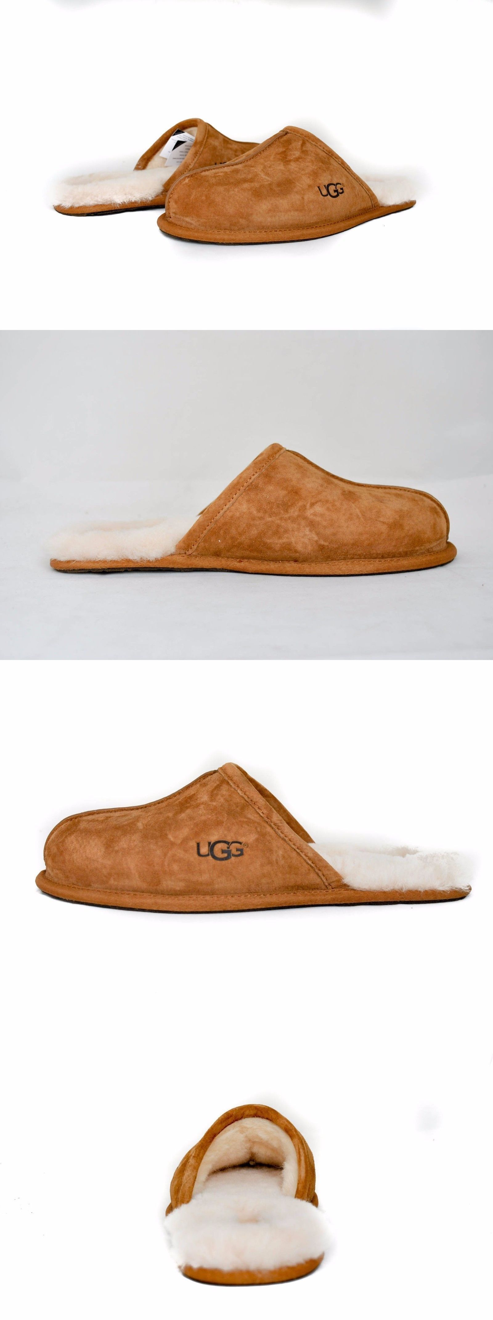 c989de83071 Slippers 11505: Ugg Australia Men S Scuff Slippers Shoes 5776 ...
