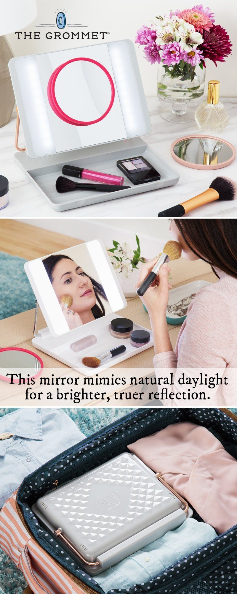 Know what your makeup really looks like. This LEDlighted