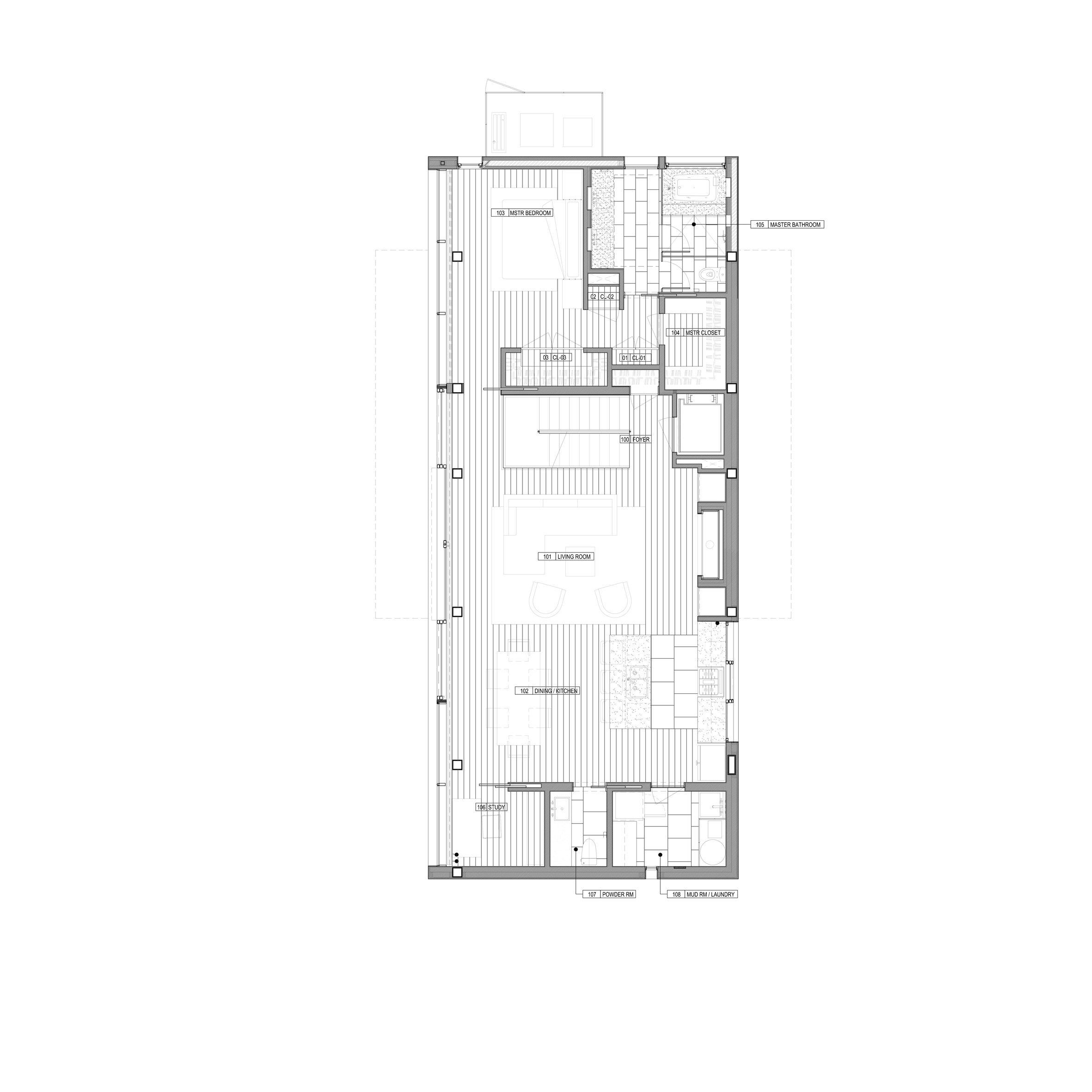 Pale Cedar Beach House By Raad Studio Perches Atop A Sand Dune Floor Plans Beach Floor Plans Cabin Floor Plans