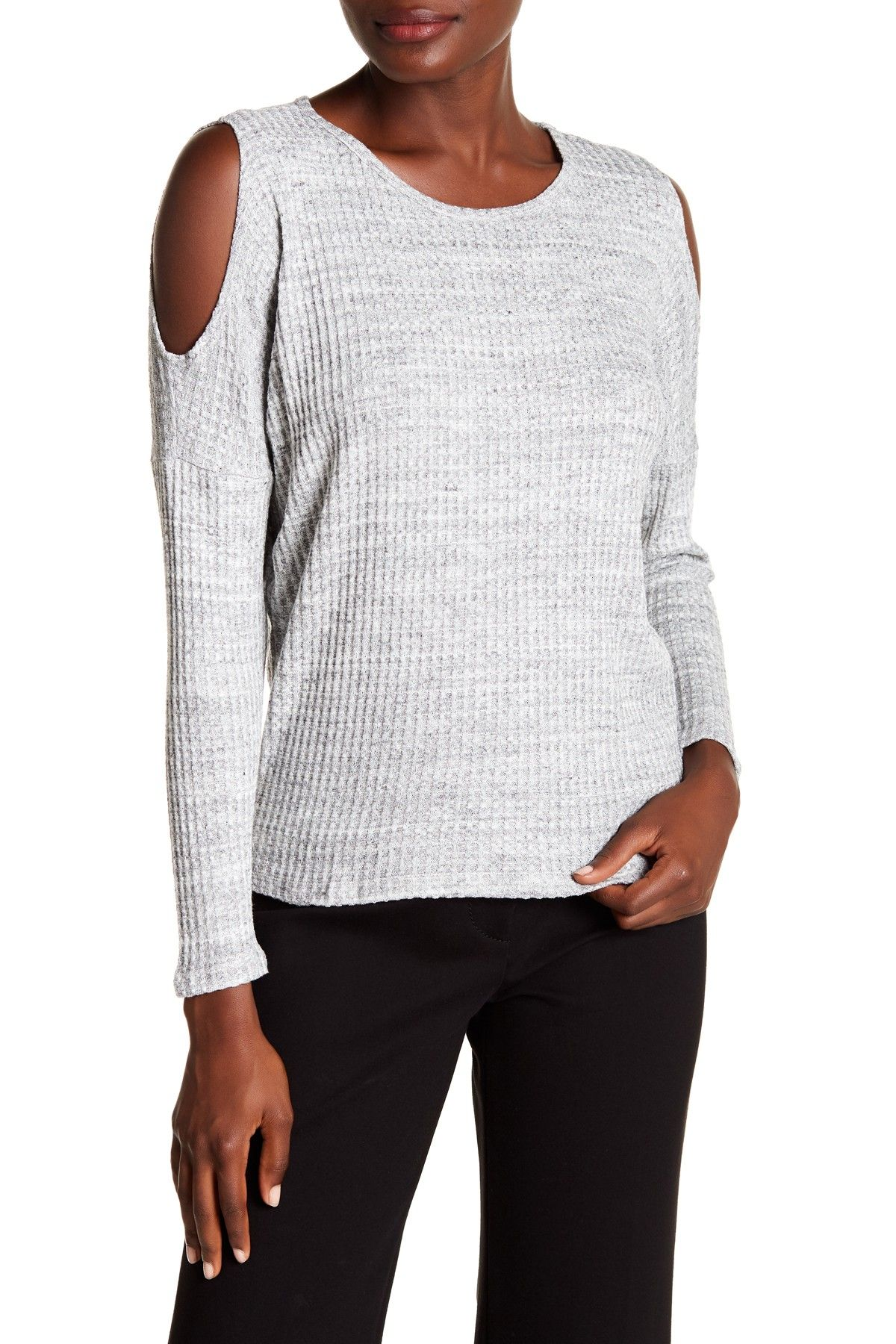 b5d2b29c36ee9 Wilma Cold Shoulder Sweater by Velvet by Graham   Spencer on  nordstrom rack