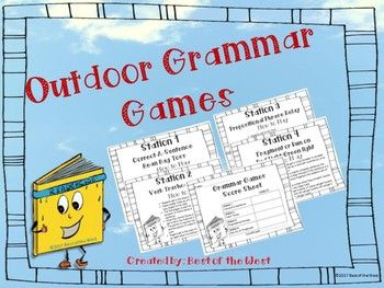 outdoor grammar games teaching grammar grammar games verb tenses grammar review. Black Bedroom Furniture Sets. Home Design Ideas