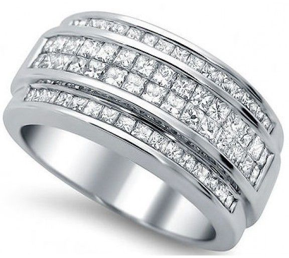 Mens Diamond Wedding Bands Are Common All Over The Globe. These Are Thought  To Be