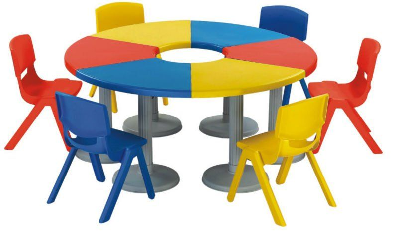 Classroom Furniture In Nigeria : Kindergarten desk chair nursery school furniture